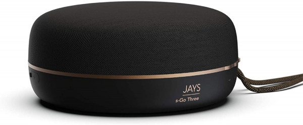 Jays Bluetooth Speaker Portable s-Go Three Black