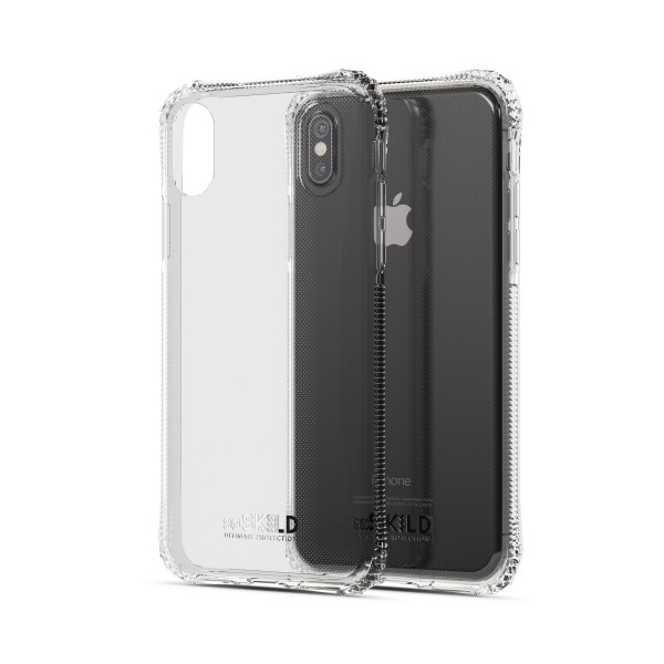 SoSkild Absorb Back Case Transparant voor iPhone X Xs