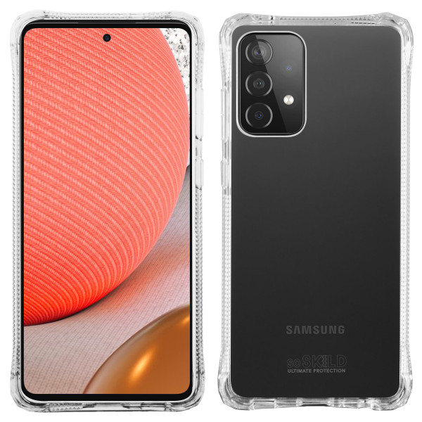 SoSkild Samsung Galaxy A72 Absorb 2.0 Impact Hoesje - Transparant