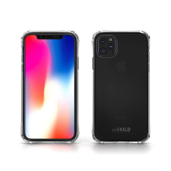 SoSkild Absorb Impact Case Transparant voor de iPhone 11 Pro Max