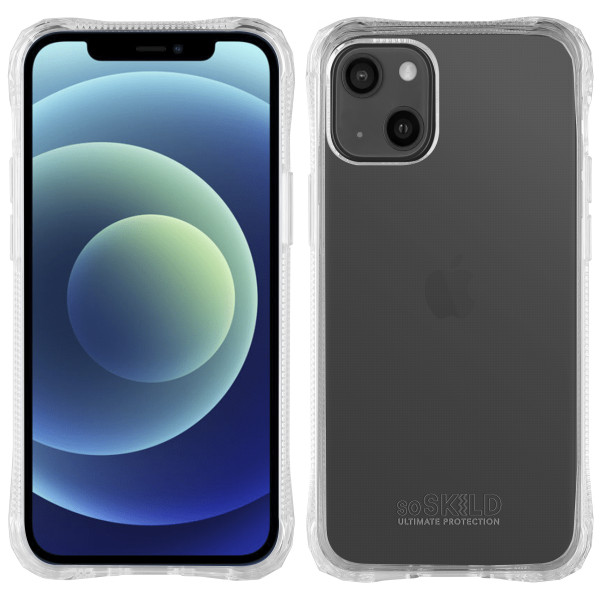 SoSkild iPhone 13 Absorb 2.0 Impact Hoesje - Transparant