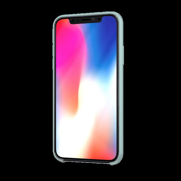 BeHello Premium iPhone 11 Siliconen Hoesje Sky Blauw
