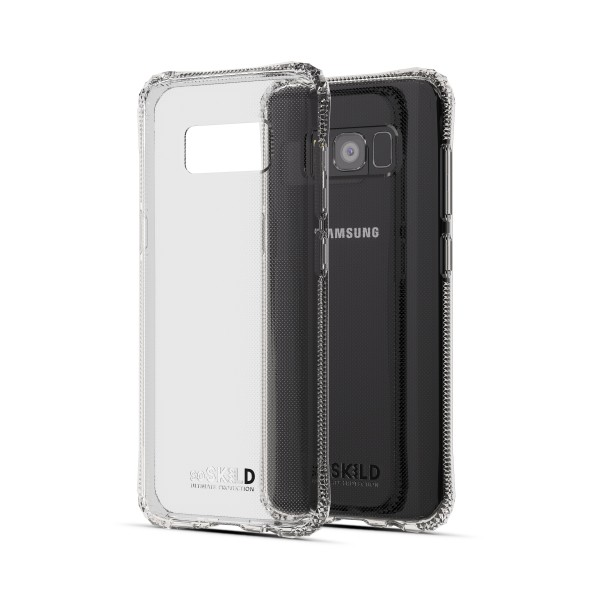 SoSkild Absorb Back Case Transparant voor Samsung Galaxy S8