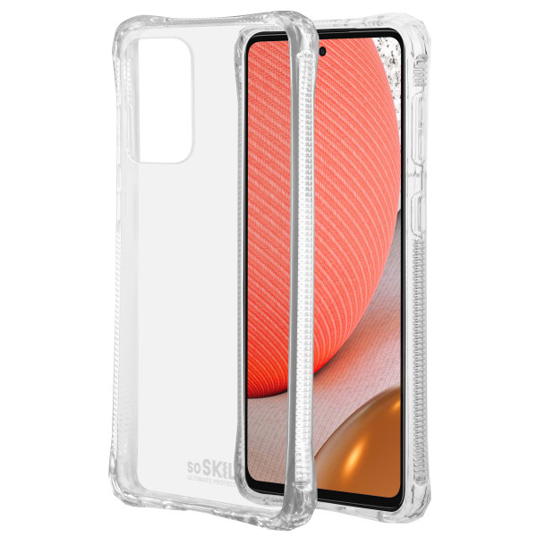 SoSkild Samsung Galaxy A72 Absorb 2.0 Impact Case Transparent