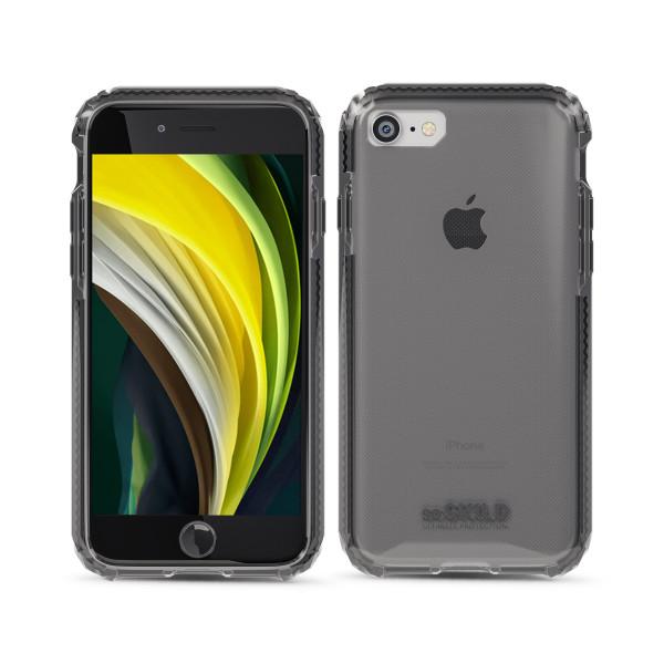 SoSkild Defend Back Case Grijs voor iPhone se (2020) 8 7