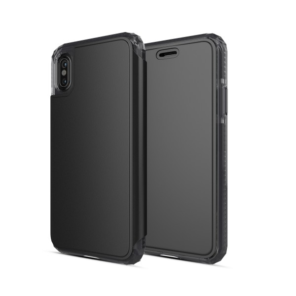 iPhone X/XS Defend Wallet Impact Case Black
