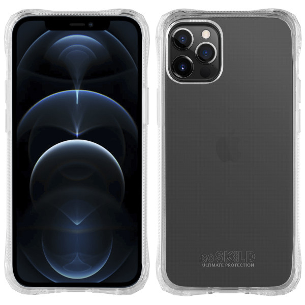 SoSkild iPhone 13 Pro Absorb 2.0 Impact Hoesje - Transparant