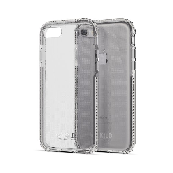 SoSkild Defend Back Case Transparant voor iPhone 8 7