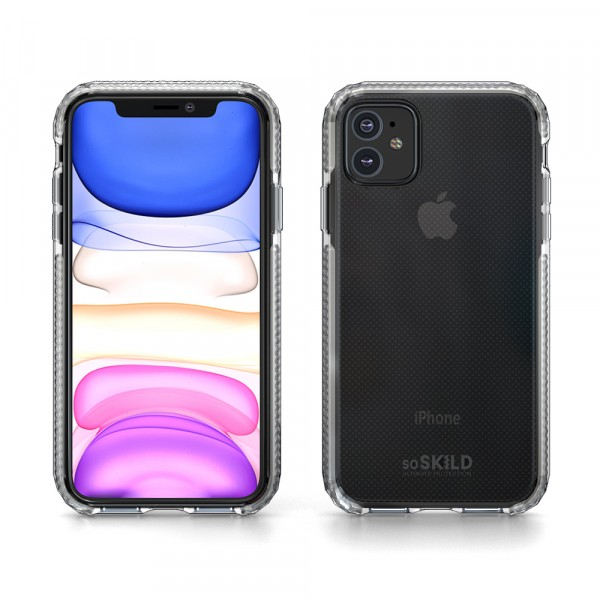 SoSkild iPhone 11 Defend Heavy Impact Case Transparent