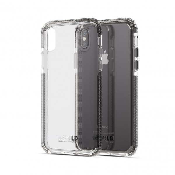 SoSkild Defend Heavy Impact Case Transparent voor iPhone Xs Max