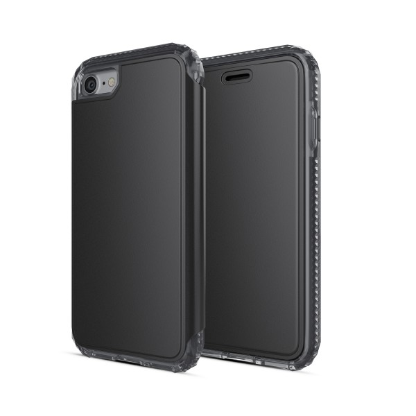 SoSkild Defend Wallet Case Zwart voor iPhone 8 7