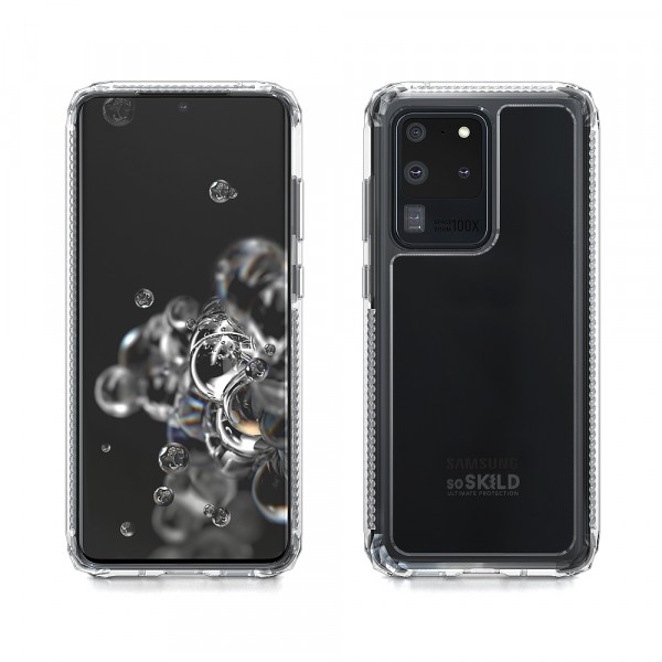 SoSkild Samsung Galaxy S20 Ultra Defend 2.0 Heavy Impact Case Transparent