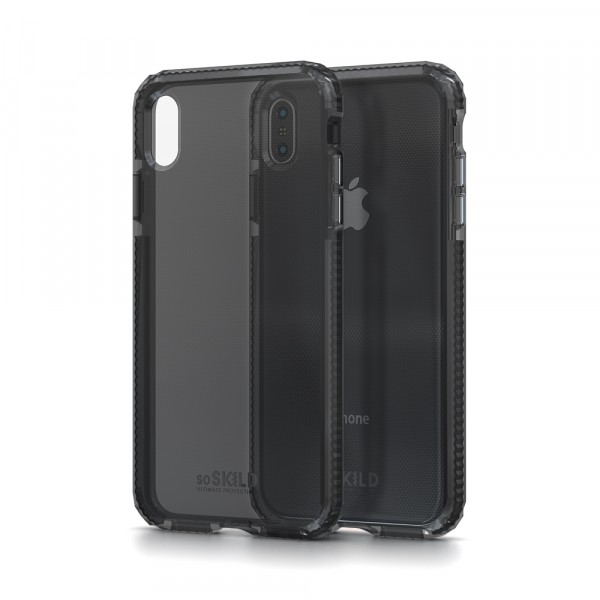SoSkild Defend Heavy Impact Case Smokey Grey voor iPhone Xs Max