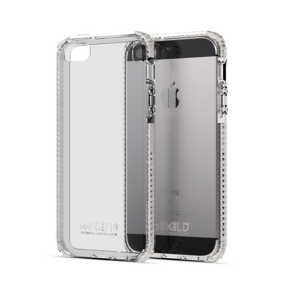 iPhone 5/5S/SE Defend Heavy Impact Case Transparant