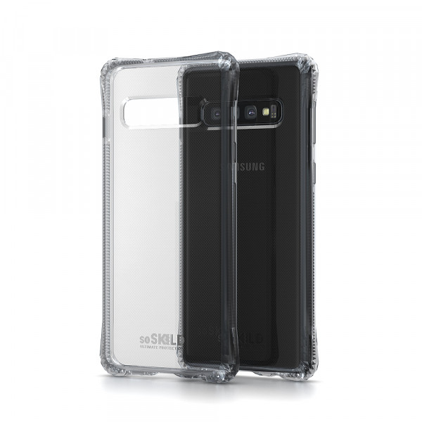 SoSkild Samsung Galaxy S10 Absorb Impact Case Transparant