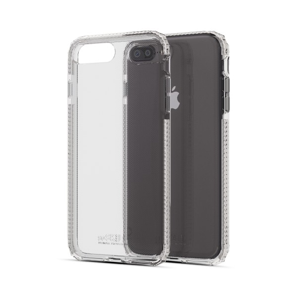 SoSkild Defend Back Case Transparant voor iPhone 8 Plus 7 Plus