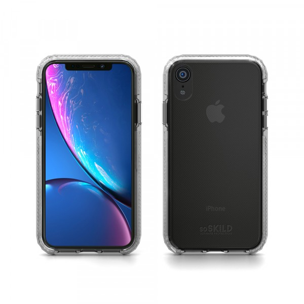 SoSkild Defend Heavy Impact Case Transparant voor iPhone Xr