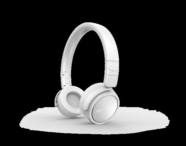 Jays On-Ear Bluetooth Headphone x-Five Wireless White