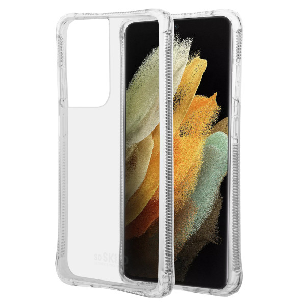 SoSkild Samsung Galaxy S21 Ultra Absorb 2.0 Impact Case Transparent