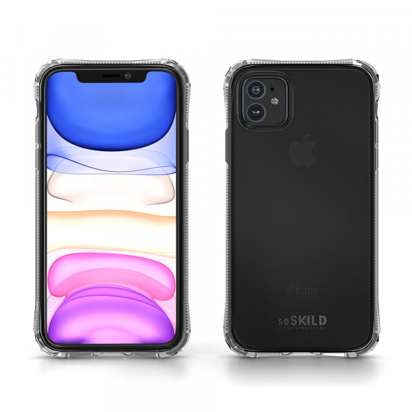 SoSkild iPhone 11 Hoesje Absorb Heavy Impact Case - Transparant