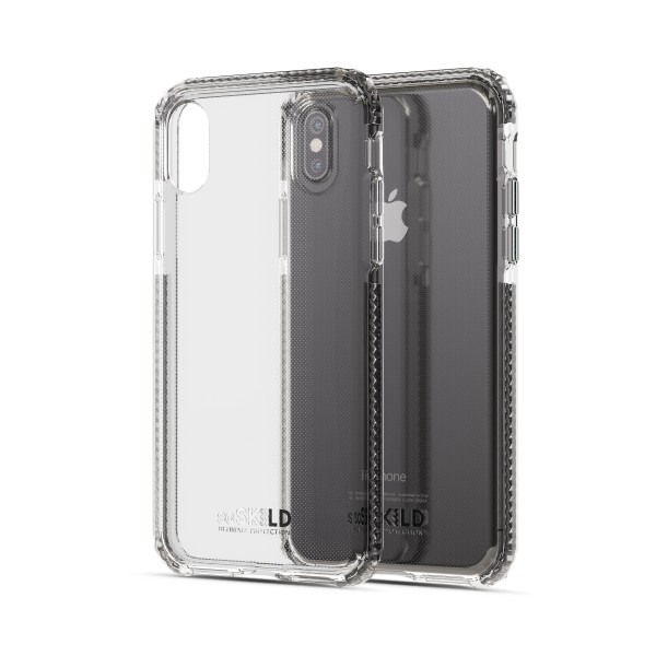 SoSkild Defend Back Case Transparant voor iPhone X Xs