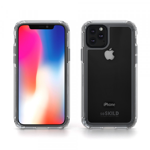 SoSkild iPhone 11 Pro Max 2.0 Defend Back Hoesje - Transparant