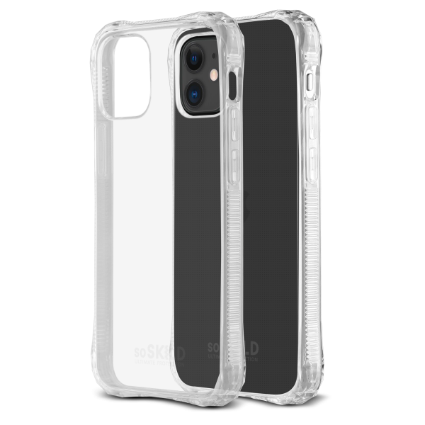 SoSkild iPhone 12 / 12 Pro Absorb 2.0 Impact Case Transparent