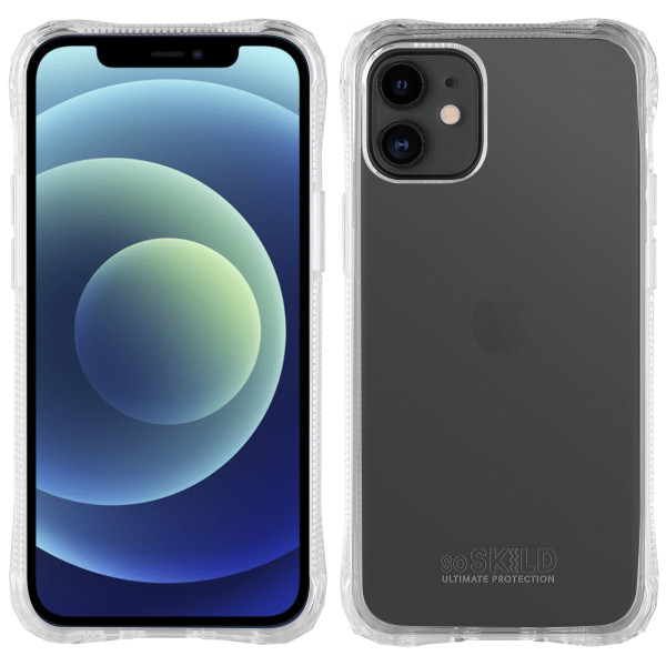 SoSkild iPhone 12 mini Absorb 2.0 Impact Case Transparent