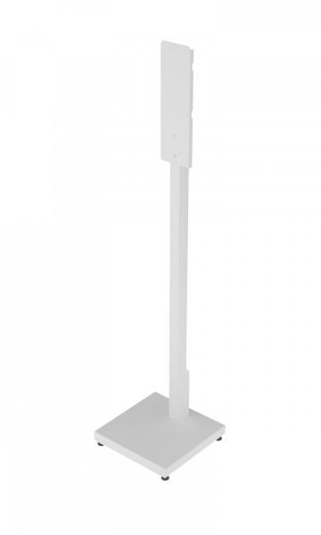 Vloerstandaard Automatische Dispensers Vierkante Voet (Wit)