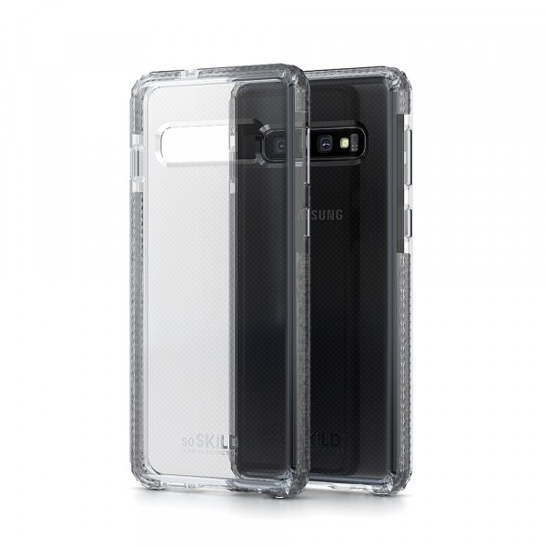 SoSkild Samsung Galaxy S10+ Defend Heavy Impact Case Transparant