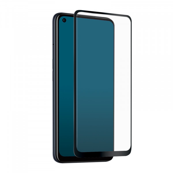 SBS Oppo A53 2020 / A53s Full Cover High Impact Glass Screen Black