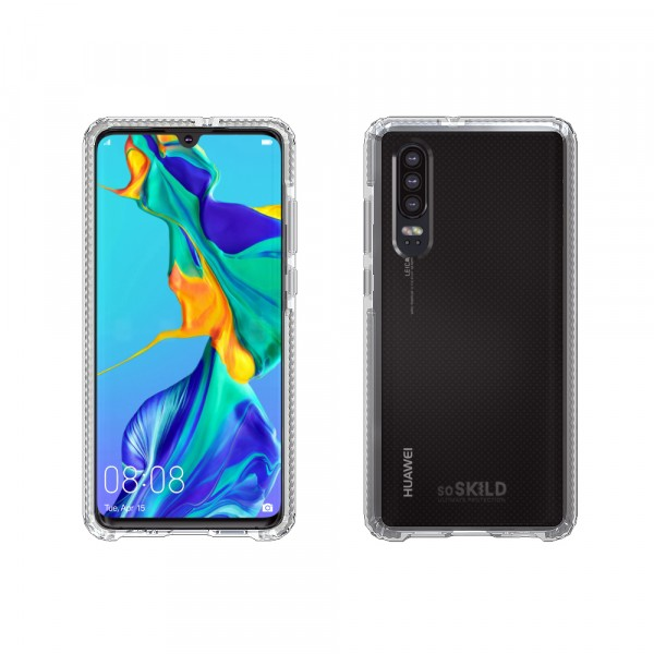 SoSkild Huawei P30 Defend Heavy Impact Case Transparent