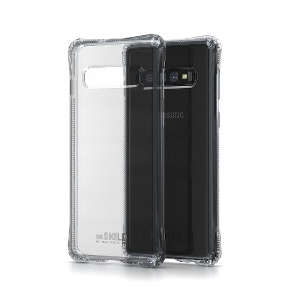 SoSkild Samsung Galaxy S10+ Absorb Impact Case Transparent