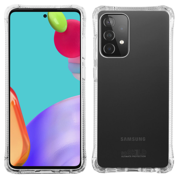 SoSkild Samsung Galaxy A52 / A52s Absorb 2.0 Impact Hoesje - Transparant