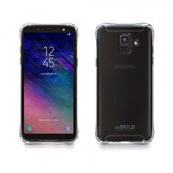 SoSkild Absorb Impact Case Transparant voor Samsung Galaxy A6