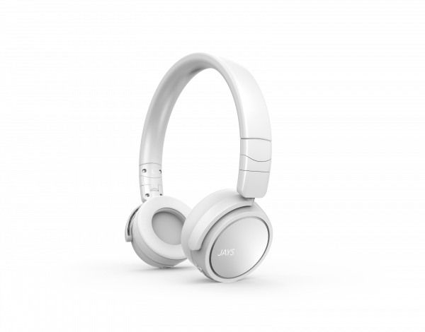 Jays On-Ear Bluetooth Headphone x-Five Wireless White