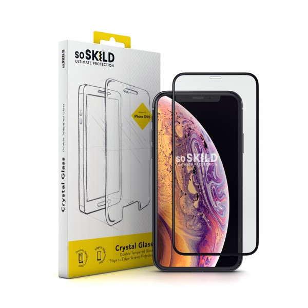 SoSkild iPhone 11 Pro Max Crystal Glass Privacy